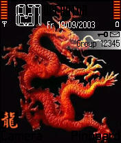 Тема Year of the Dragon I №527 для Nokia